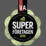 Asgari of Sweden AB, årets superföretag 2018